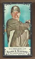 2009 Topps Allen and Ginter Mini Black #223 Scott Rolen - NM-MT