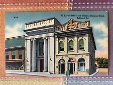 Post Office & Citizens National Bank, Ashland, Penn