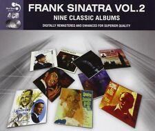 FRANK SINATRA - 9 CLASSIC ALBUMS 2 4 CD NEW!