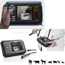 CE Veterinary VET Digital Ultrasound Scanner System Machine Animal Rectal Probe