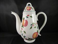 MINT HTF Portmeirion Studio Orchard Fruit Tall Coffee Pot - Made in Britain