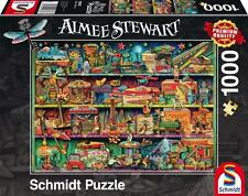 SCHMIDT JIGSAW PUZZLE MAGICAL WORLD OF TOYS AIMEE STEWART 1000 PCS #59376
