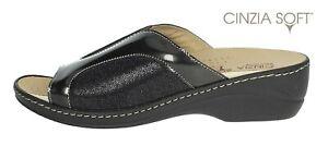 Ciabatte pantofole da donna Cinzia Soft con plantare estraibile comode aperte