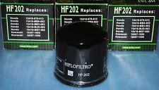3 filtres à huile Hiflofiltro HF202 Honda VT VF 500 750 1000 1100 SHADOW MAGNA