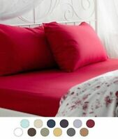 1800 Count 4 Piece Deep Pocket Bed Sheet Set Ultra Soft Bed Sheets