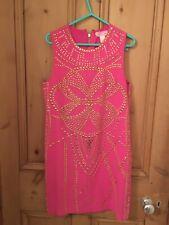 Versace For H&m Hot Pink Silk Dress