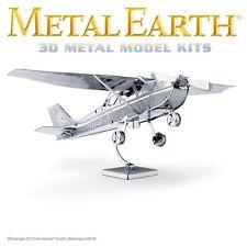 Fascinations Metal Earth Cessna 172 Skyhawk Aircraft 3D Airplane Model MMS045