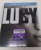 Lucy Blu-Ray DVD Exclusive Steelbook NEW SEALED