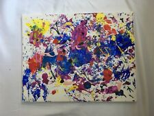 """Distress""  personal canvas painting by A.Green"