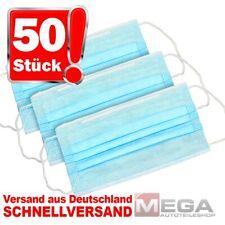 50 Stück Mundschutz-Masken 3 Lagig Atemschutz-Masken OP-Maske Einwegmaske