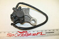 06-09 YAMAHA YZFR6S YZF-R6 S 6S REAR BACK BRAKE CALIPER W MOUNT BRACKET BANJO