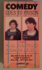 paul rodriguez   COMEDY GOES TO PRISON  richard belzer  VHS VIDEOTAPE