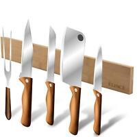Bambus Messerleiste magnetisch Messerblock Messer-halter Magnetleiste Küchenlei