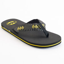 BATMAN x DC COMICS Mens Sandals (NEW) Flip Flops FREE SHIPPING Sizes M - L - XL
