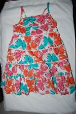 George Sun Dress Tiered Gipsy Style Lined Multicoloured Age 2-3 Years BNWT