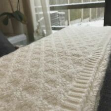 Mohair Throw Sofa Blanket Large Size Sofa Bed Settee Bedspread Accent Throw BNWT