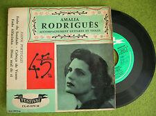 EP AMALIA RODRIGUES - Fado de Saudade - FESTIVAL FX-45-1070 M - French press