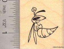 Fierce Yellow Jacket Rubber Stamp D13307