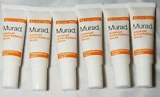 6X Murad Advanced Active Radiance Serum 0.33 fl oz/ 10 ml Each - No Box