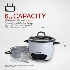 Rice Cooker And Food Steamer Pot Style Rice Cooker  Brand  Aroma