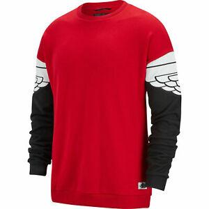 Men's Nike Air Jordan Wings Retro Classic Crew Sweatshirt [AO0426-687/XL]