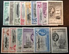 Falkland Islands Dependencies 1954 Full Set Of 15 Stamps To £1.00 mint hinged