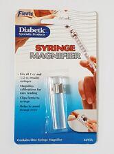 Flents Diabetic Syringe Magnifier 66955 for 1 cc and 1/2 cc Insulin Syringes