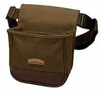 NEW Uncle Mikes Deluxe Canvas Shell Pouch Brown One Size FREE SHIPPING