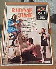 """Vintage 1969 """"Rhyme Time"""" Game by NBC at Home Entertainment by Hasbro"""
