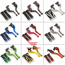 For Yamaha YFM700 Raptor 700R 2008-2019 2020 CNC Brake Clutch Levers Handle Grip