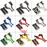 For Kawasaki ZX6R ZX636R ZX6RR ZX12R Z1000 ZZR600 Brake Clutch Lever Handle Grip