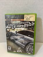Need for Speed: Most Wanted - Original Xbox Game - Complete & Tested