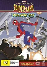 The Spectacular Spiderman : Vol 6 (DVD, 2017)
