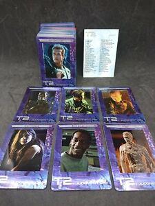 Terminator 2 Film Cell Complete Base Card Set 72 Cards  Filmcardz T2 Artbox