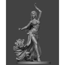 1:24 Belly Dancer Resin Figure Model Kit Unassambled Unpainted
