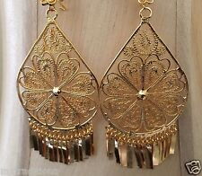 Mexican Filigree Earrings Handmade From Oaxaca Style#LG3595.Aretes de Filigrana