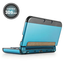 Aluminium Protective Hard Skin Case Cover for New Nintendo 3DS 2015 Light Blue