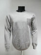 BECOME maglione uomo lana GIROCOLLO art.513409A col.BEIGE tg.56 inverno 2013