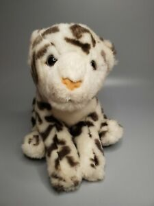 """Animal Alley Snow Leopard Plush Stuffed Animal Toy Apprx 14"""" Nose to Tip of Tail"""