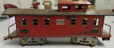 AMERICAN FLYER #4011 Wide Gauge Pre-War Caboose-Red