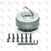 UNIVERSAL QUICK RELEASE STEERING WHEEL HUB ADAPTER BOSS KIT FOR MOMO OMP GREY