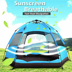 Instant Popup Tent Waterproof Automatic 6-8 People Outdoor Camping Hiking  U