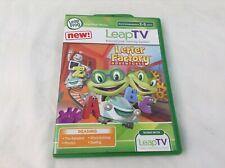 LeapFrog LeapTV - Letter Factory Adventures Educational Video Game