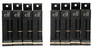 e.l.f. Studio elf Makeup Concealer Ivory OR Beige You Choose .11 oz. Lot of 4