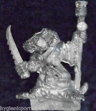 1987 Skaven 060104 Plague Monk Warlock Chaos Ratmen Citadel War Machine Wizard