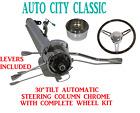 30 Street Hot Rod Pickup Truck Chrome Tilt Steering Column Automatic Wheel