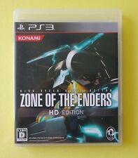 ZONE OF ENDERS HD EDITION [ Konami ] Sony PlayStation 3 Japan