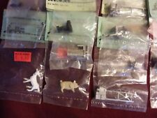Railroad Cast Metal  Equipment HO and  O scale Kramer Products Lot of 22 item