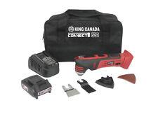 King Canada Tools 8040LK-BC 20V MAX LITHIUM-ION CORDLESS OSCILLATING TOOL KIT