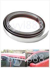 3M Silver 20mm Car Chrome DIY Moulding Trim Strip For Grille Window Door Bumper